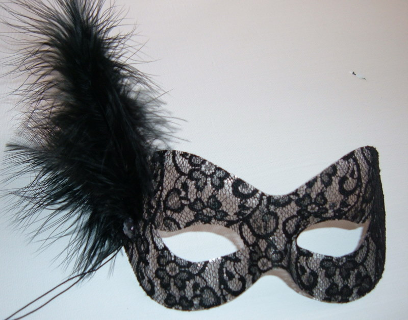 Black Masquerade Ball Masks For Women Black lace masquerade mask